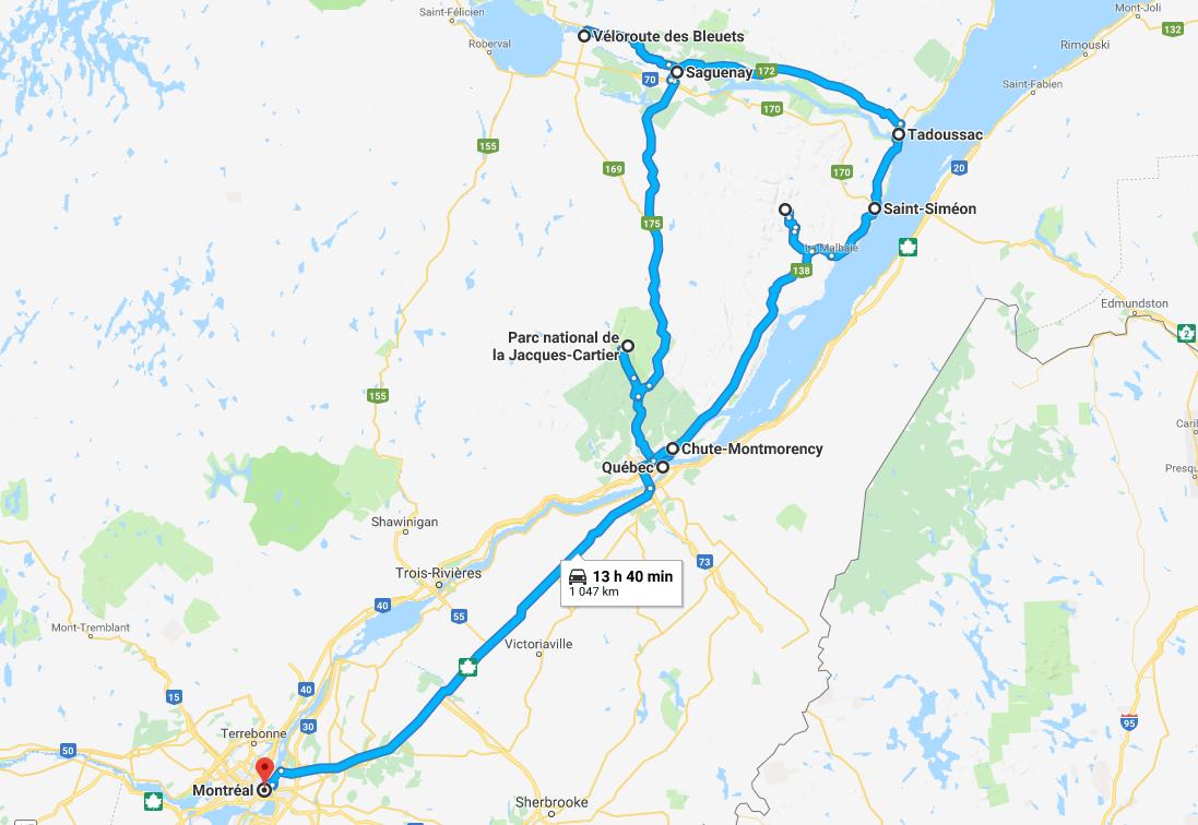 Circuit Canada multi-activités - 1