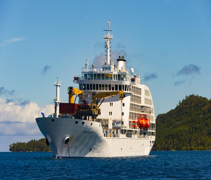 Séjour Polynésie | Croisière Aranui 5