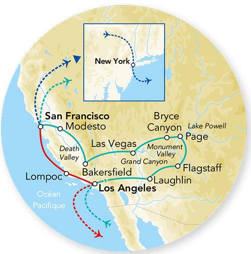 Etats-Unis - Ouest Américain - Circuit Splendeurs de l'Ouest USA
