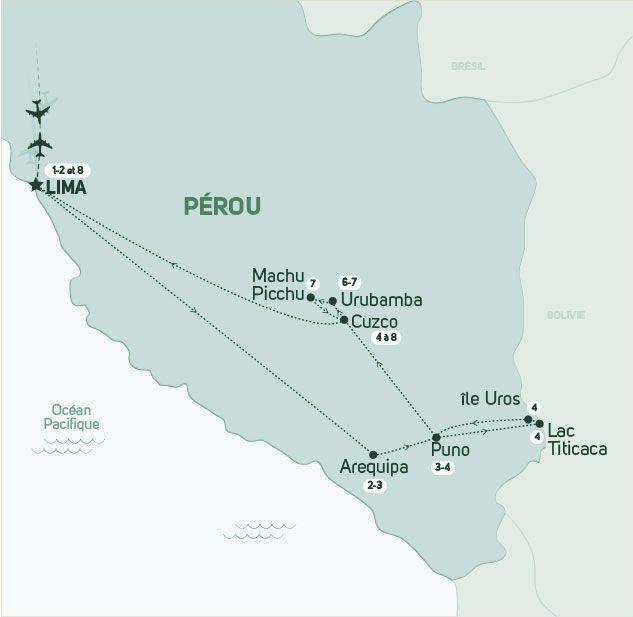Pérou - Circuit Douceurs du Pérou et Extension Amazonie
