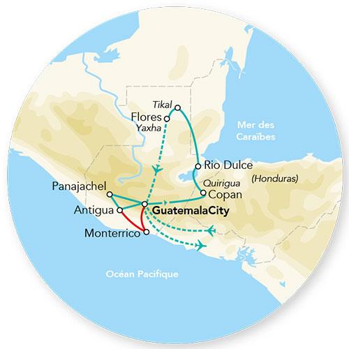 Guatemala - Circuit Merveilles du Guatemala