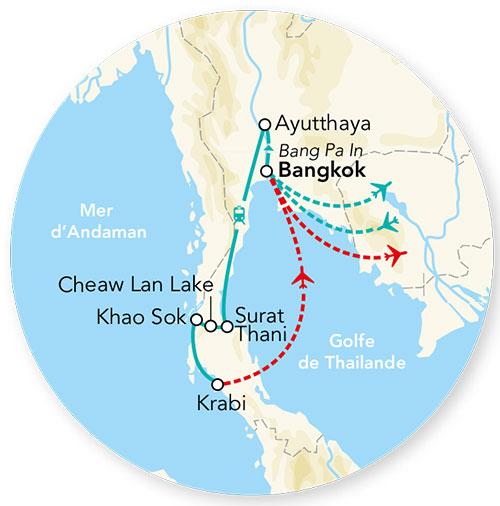 Circuit Thailande - Circuit - Merveilles de Thaïlande & Extension ...